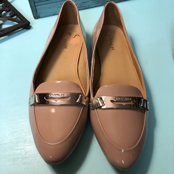 "cd1887bda0e Coach Shoes - New Coach Shoes ""Ruthie"" Beige with Gold"